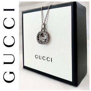 BRAND NEW authentic GUCCI interlock G pendant